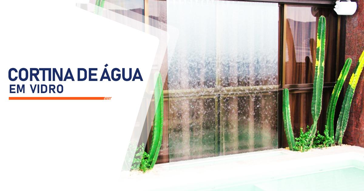 Cortina de Agua em Vidro Mogi das Cruzes