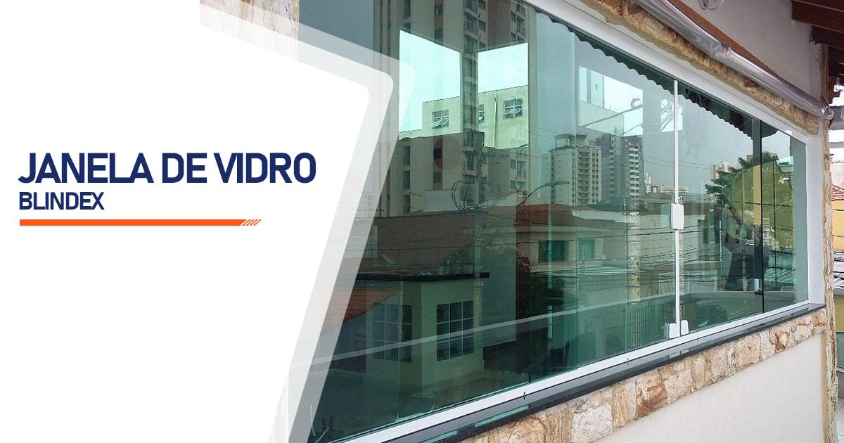 Janela De Vidro Blindex Mogi das Cruzes