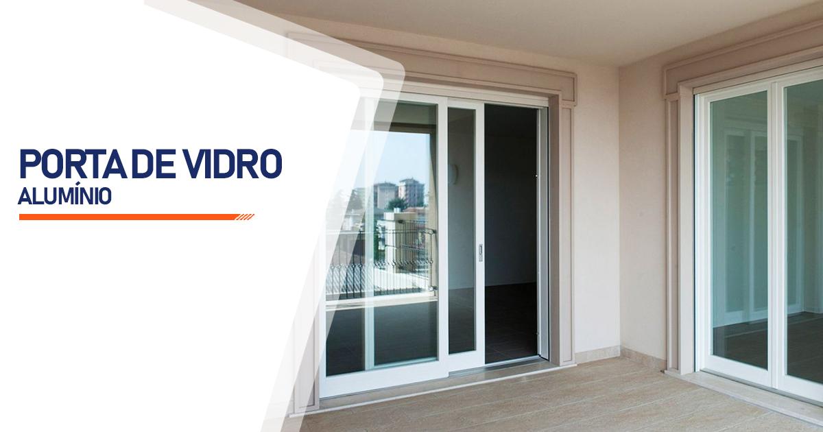 Porta De Vidro Aluminio Mogi das Cruzes