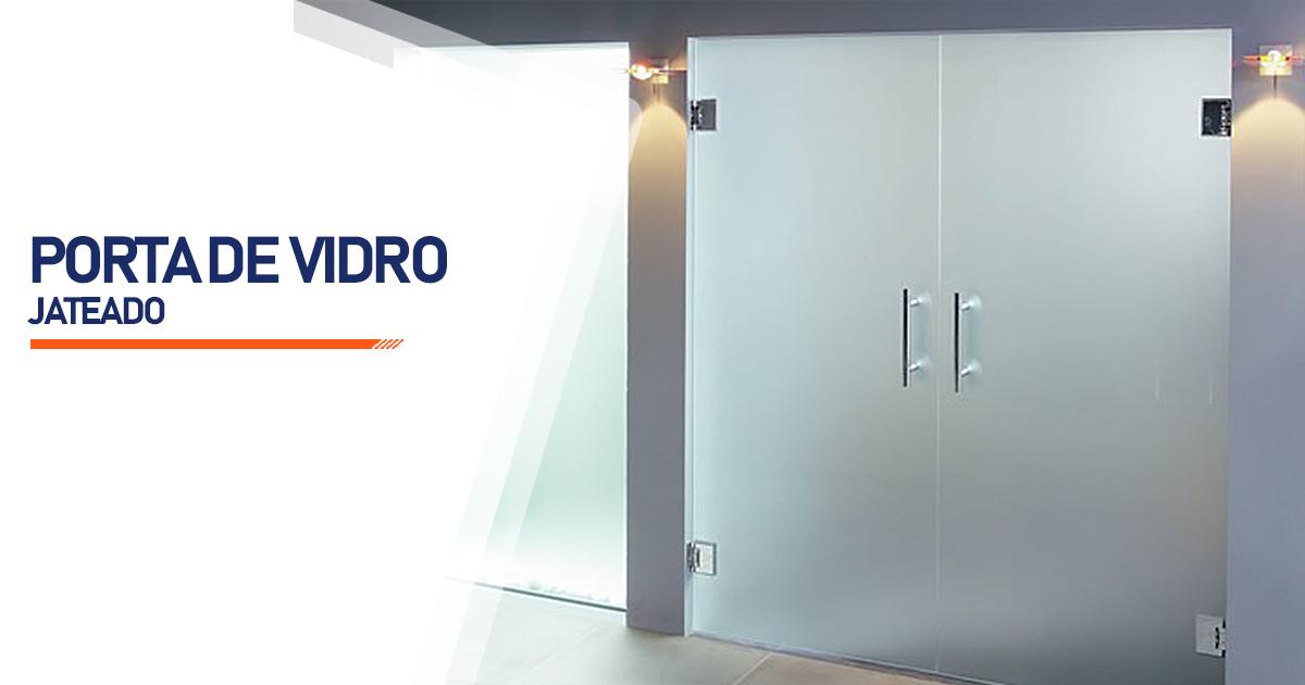Porta De Vidro Jateado Mogi das Cruzes